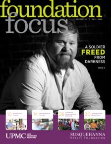 Foundation Focus Fall 2020 cover