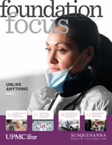 Foundation Focus Magazine Spring 2021 Cover