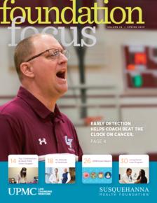 Foundation Focus Spring 2020 cover