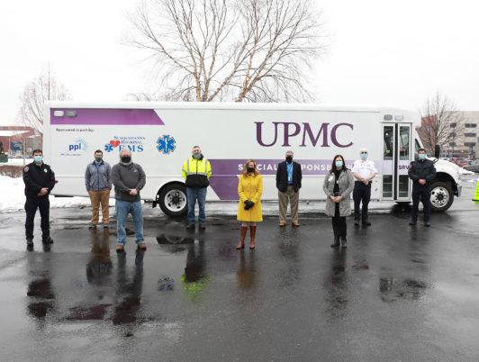 UPMC Unveils Special Response Vehicle in Williamsport